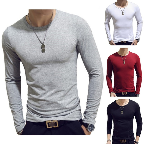 Slim Fit, long sleeve t shirt, Sleeve, Long Sleeve