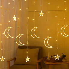 led, fairy, Garland, starmoonfairylight