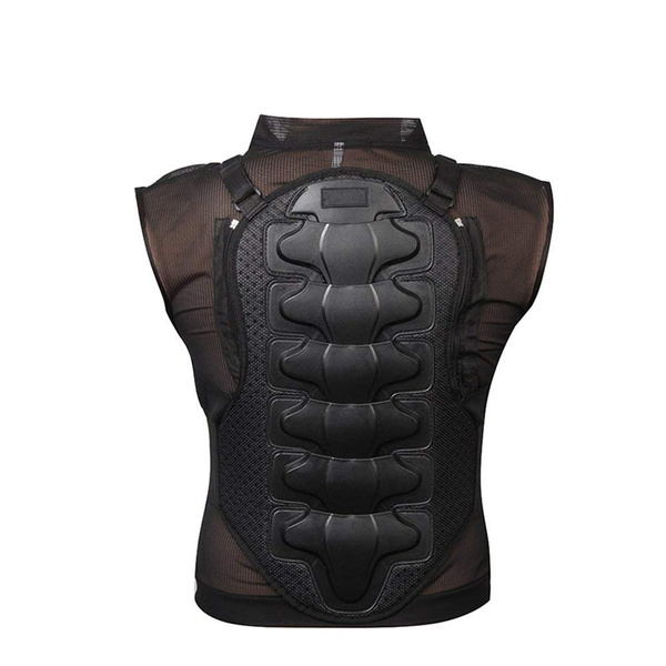 Downhill skiing Motorcycle Body Armor Back Spine Protective Gear Jacket New