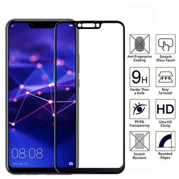 Tempered Glass Huawei Serise Full Coverage Screen Protector For Huawei Mate  20 Pro Lite P Smart Plus Nova 3 2 2s 2 Plus,Honor Play 8X Max Note 10 10