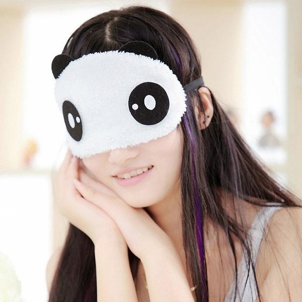 Image result for sleep eye mask white panda