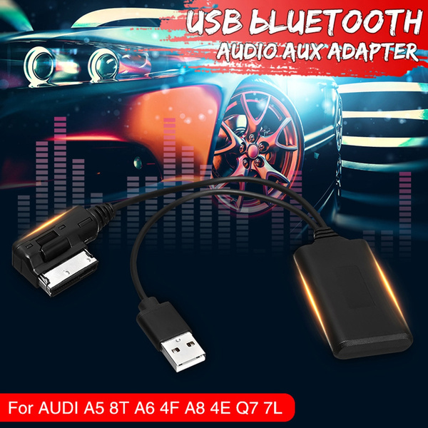 Car Music Interface Audio Cable USB AMI MMI 2G bluetooth Adapter Audio AUX  In Cable For AUDI A5 8T A6 4F A8 4E Q7 7L