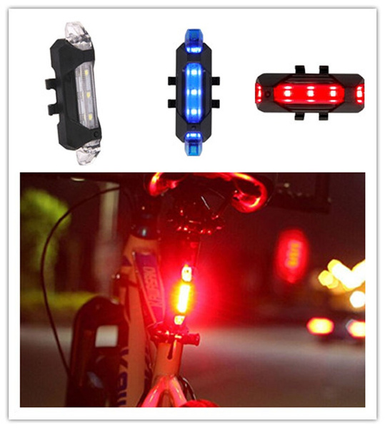 led, Mountain, lights, Bicycle