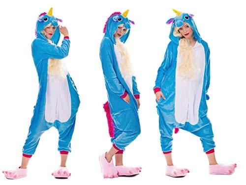 57cd688197 unisex, einhornpyjamaskostümjumpsuiterwachseneunise, Halloween, Cosplay