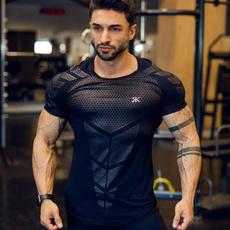 Shorts, Shirt, Sleeve, Fitness