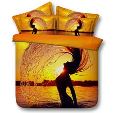 goldenbeddingset, girlsgoldenbedset, goldenbedcover, Romantic