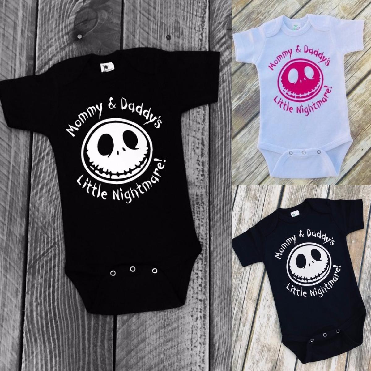 3af7c7d3e Baby Fashion Nightmare Before Christmas Jack Skellington Inspired Cool  Bodysuit. Product Description