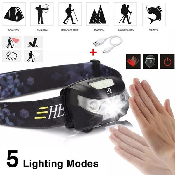 waterproofheadlamp, led, Hiking, Waterproof