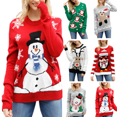 cute, Fashion, Christmas, Sleeve