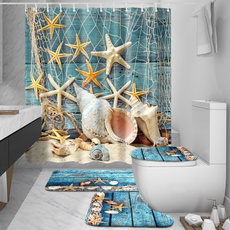 Blues, Baño, bathroomdecor, starfish