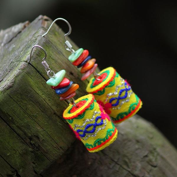 ethnicjewelry, ethnicearring, pendantearring, Fashion