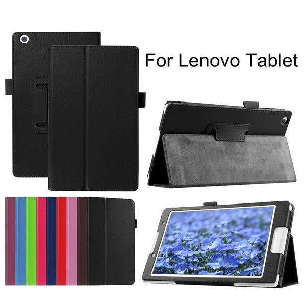 promo code bd592 56673 Flip Fold Litchi PU Leather Case For Lenovo Tab E7 E8 E10 M10 P10 Case,Tab  7 Essential,Tab 4 8 10 Plus,Tab 3 710F,Tab 2 A7-10 A7-20 A10-30 A10-70,Yoga  ...