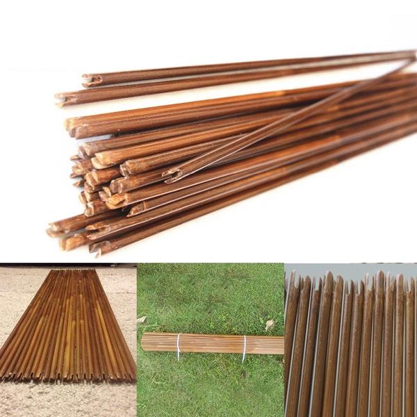 12Pcs/Lot 80cm Bamboo Arrows shaft Bamboo Arrow Hunting Archery diameter  8mm Spine 20-70lbs Hunting longbow