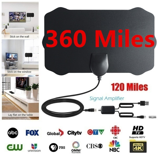 Long Distance Design Freeview Signal Amplifier TV Radius Surf Antena DVB-T  DVB-T2 Arial HD TV Receiver TV Antenna