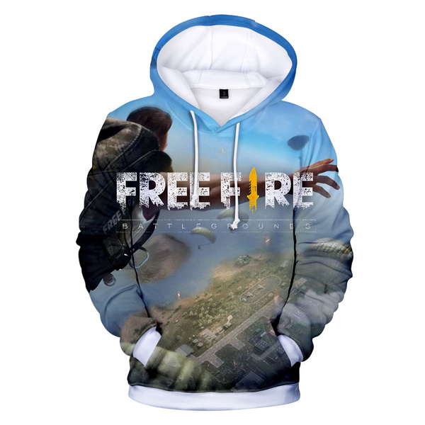 Free Fire 3d Hoodies Fashion Style Cartoon Fashion And Cool Clothes Good Quality Printing Women Men Hoodies And Sweatshirts Wish