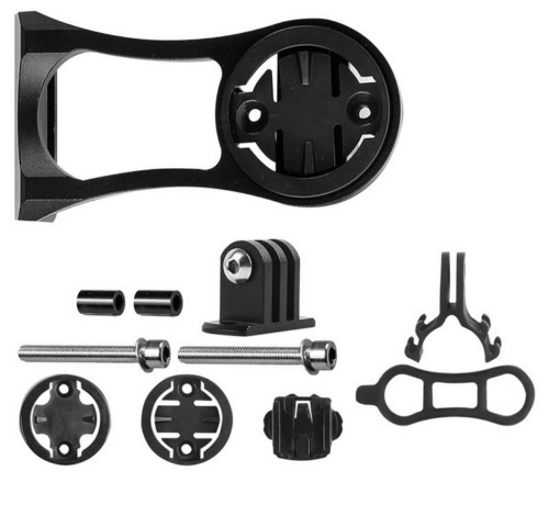 New Bike Extension Computer Out Front Mount Holder Alloy for Garmin Bryton Edge~