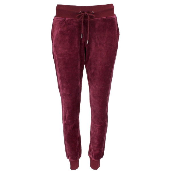 Puma Fenty by Rihanna Velour Fitted Track Pant  Casual   Pants /& Shorts Burgundy