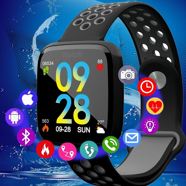 5b56380501ef Smartwatch Fitness Tracker Waterproof Smart Watch Android Smart ...