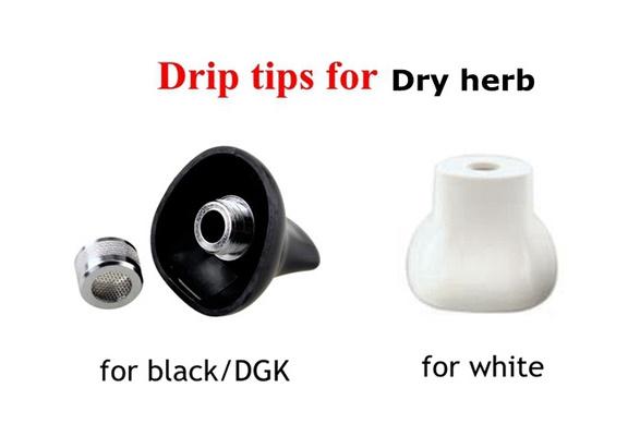 Drip tips for Dry herb vaporizer kit mouthpiece white black DGK camouflage  titan 1 titan 2 pathfinder 2 G pro