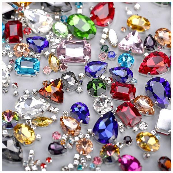 baofubag, Glass, Rhinestone, Clothes & Accessories