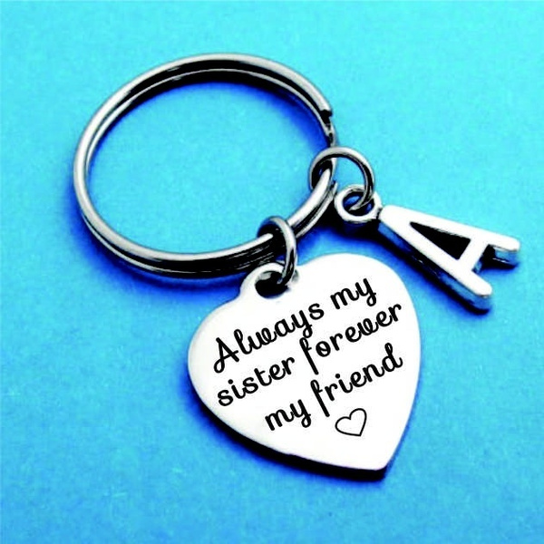 sisterkeyring, Key Chain, Gifts, Chain