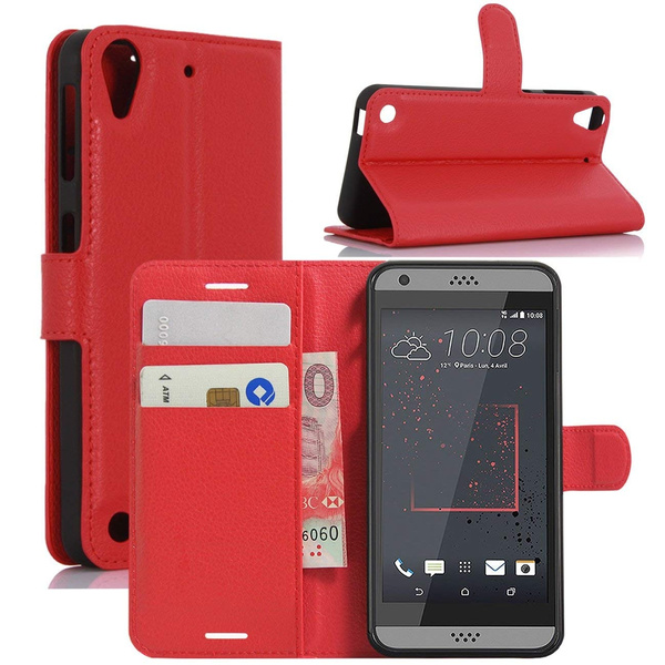 best sneakers fd677 e603f HTC Desire 530 Case, Desire 630 Case, Desire 555 Case, Desire 550 Case,  Premium PU Leather Wallet Flip Phone Protective Case Cover for HTC Desire  530 ...