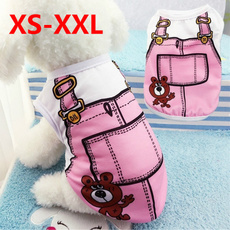 Summer, Pet Dog Clothes, Fashion, Cotton