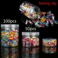 clamp, needleworkclip, Knitting, fabricbindingclamp