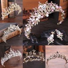 bridesmaidheaddres, weddingtiara, crown, brautkopfbedeckung