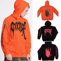 Revenge Kill Hoodie in Black XXXTentacion Bad Vibes Forever Merch