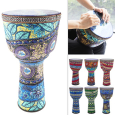 Drum & Percussion Accessories, art, colorfulafricandrum, childrenhanddrum