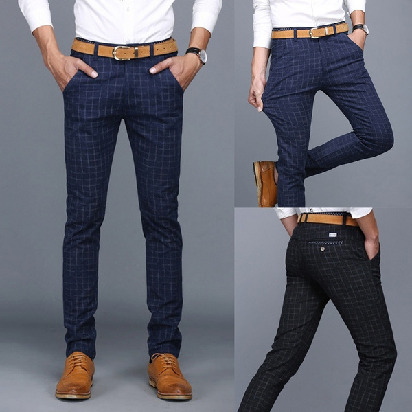 slim, Elastic, Casual pants, Long pants