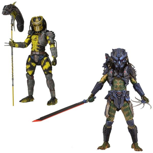 "NECA Predator 2 Figurine Collectible 7/"" Wasp Predator Battle Armor Lost Predator"