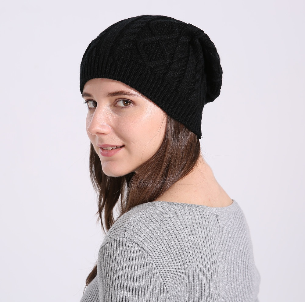 Одежда и обувь Повседневная женская вязаная зимняя шапка (Фото 6)