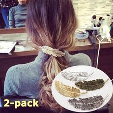 slideclip, leaf, elegantheadband, Wedding Jewelry