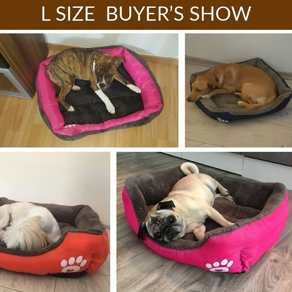Wish Cute Pets Small Large Warm Cats Puppy Dogs Beds Kennel Matt