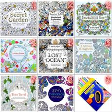 pencil, art, Garden, artpaintingbook