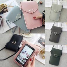 women's shoulder bags, Heart, Love, cute