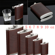 Steel, winebottle, Gifts, alcoholbottle
