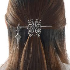 celtichairpin, dragonhairpin, Jewelry, vikinghairpin