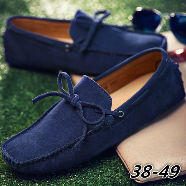 Mens Moccasins Suede Driving Shoes Lace Driver Loafers Fashion Casual Shoes 9 Colors Size 38 49 Wish