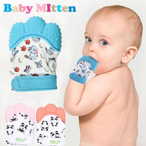 infantbabyteethermolarglove, Home Supplies, teethingmitten, Silicone