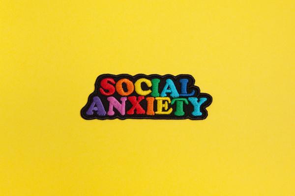 rainbow, anxiety, Adhesives, Denim