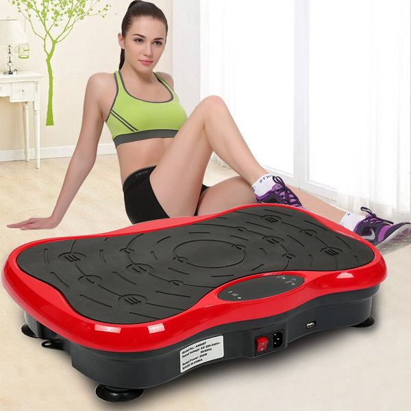 Výsledok vyhľadávania obrázkov pre dopyt Fitness Vibration Platform Workout Machine Exercise Equipment