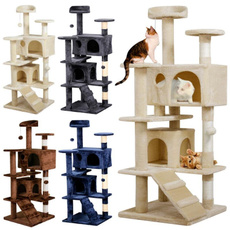 catplaytoy, cathouse, Pets, Tree