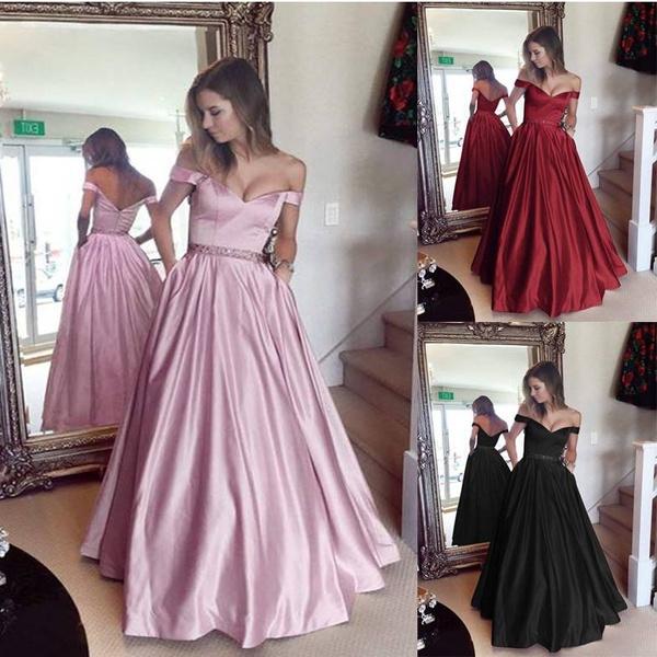 Princess Party Evening Dress Women Ballroom Skirt Modern Dance Floral Dress  Waltz Tango Costume Plus Size