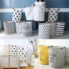 foldingbasket, bedroomstoragebasket, clothesstoragebarrel, Capacity