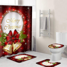 merrychristmasbackground, Polyester, Christmas, Waterproof