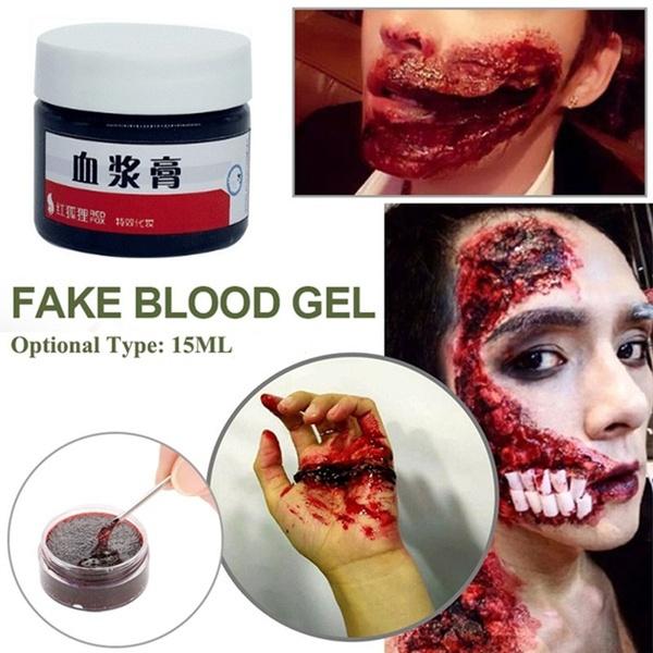 Vampire, fakebloodgel, Cosplay, Blood