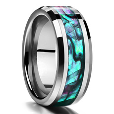 Steel, 8MM, tungstenring, Engagement